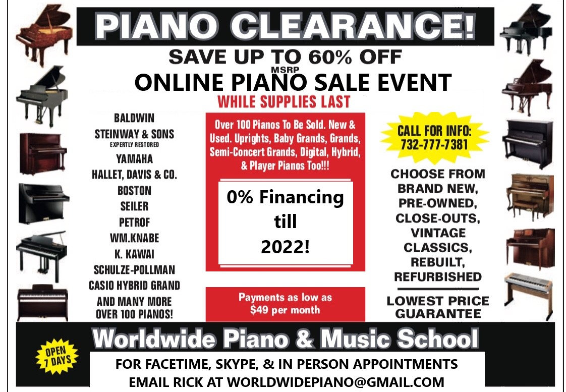 Piano Stores in NJ
